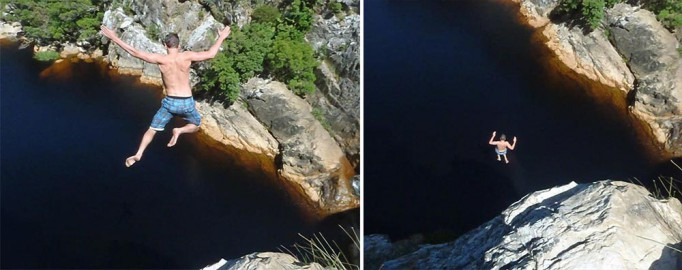 Top 5 kloofing spots in south africa shark zone blog - Crystal pools waterfall ...
