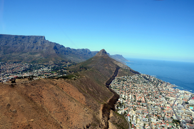 Helicopter trip cape town