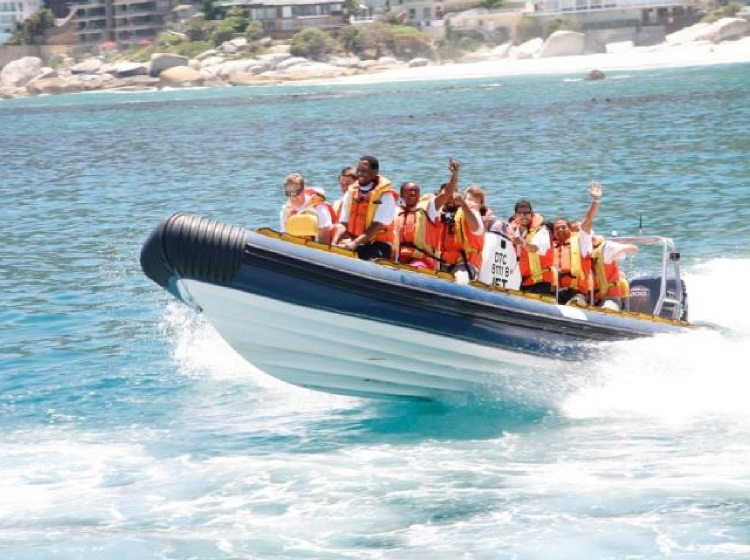 Adrenaline activities - Cape Town jet boat charter